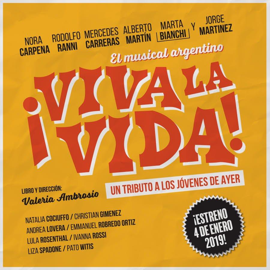 Resultado de imagen para viva la vida el musical argentino