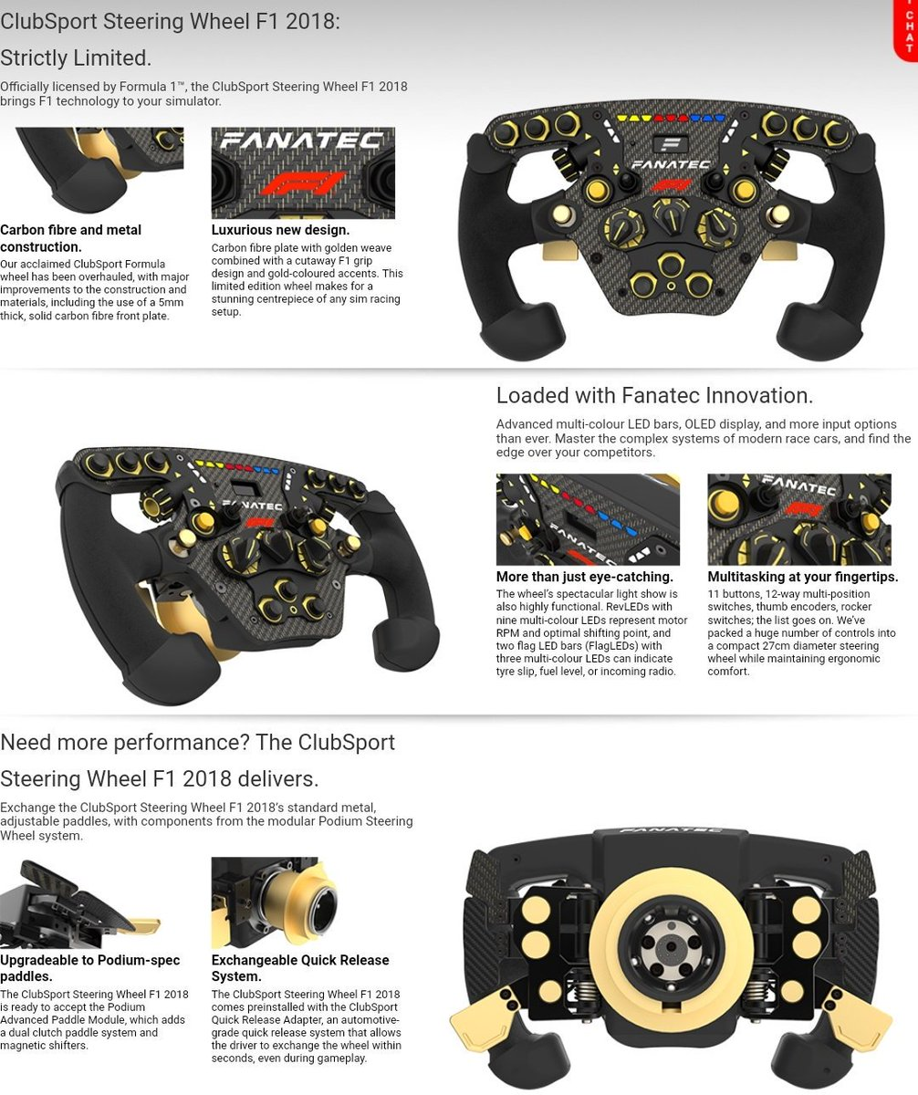 Sim Racing Wheel Plates
