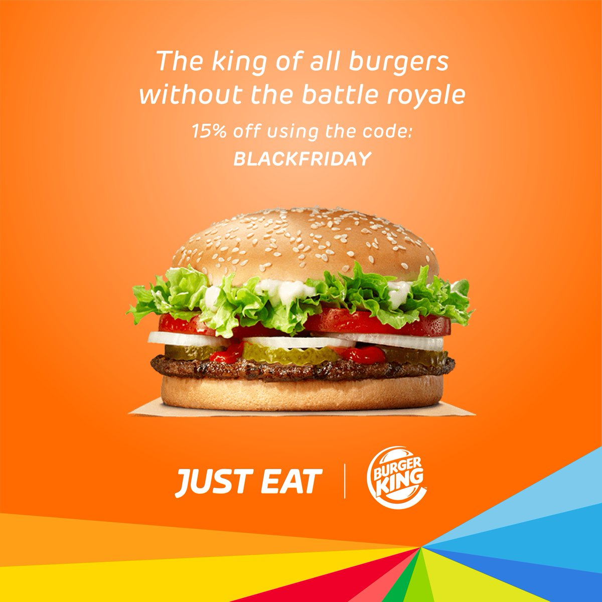 Just Eat Uk On Twitter Putting The Fry In Black Friday