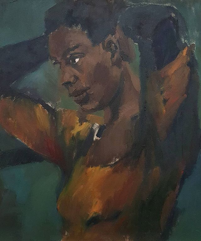 #LynetteYiadomBoakye #painting @fondazionesandretto #Turin curated by #IreneCalderoni #ContemporaryArt https://t.co/KFjtDQcKcR