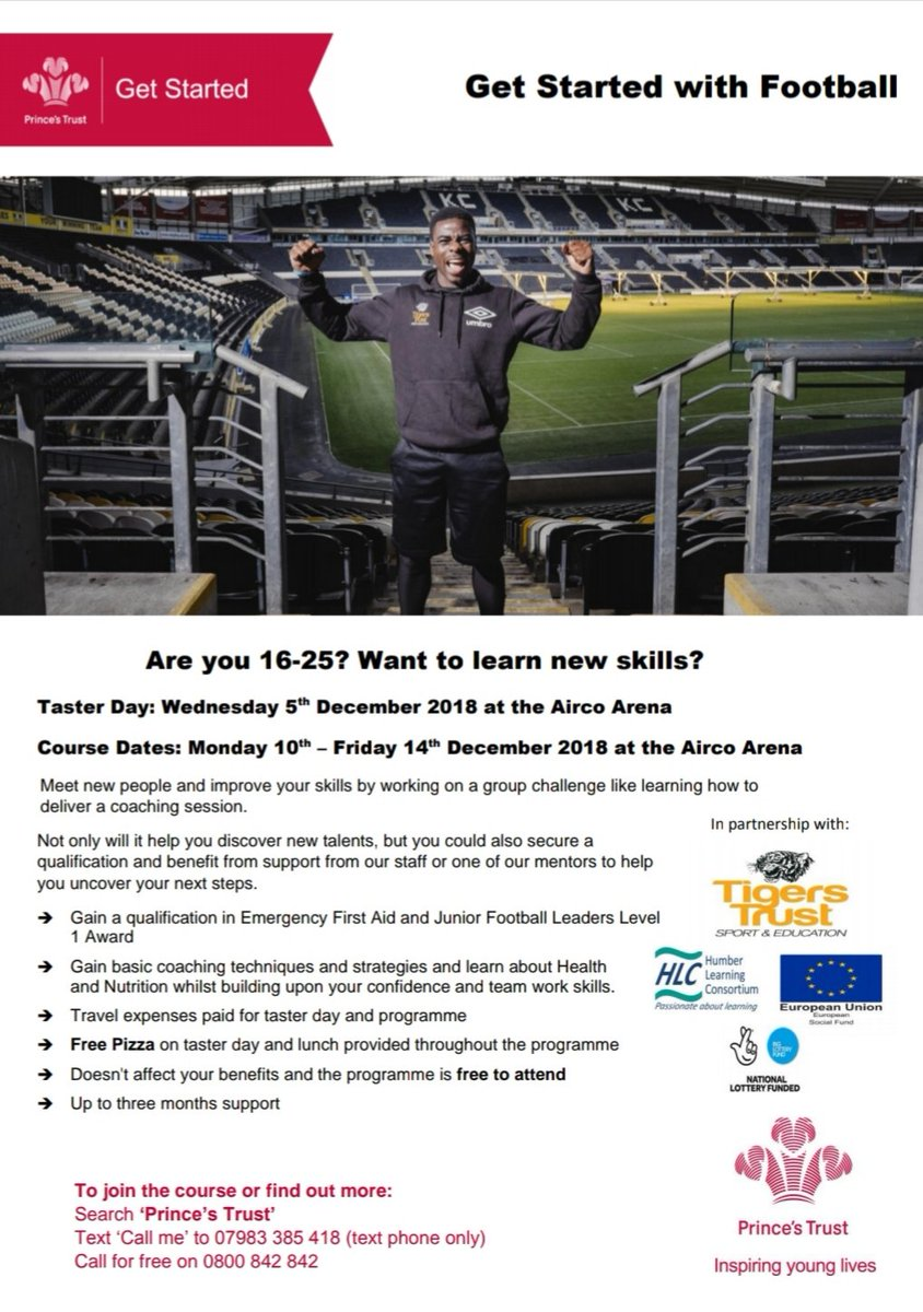 📌Are you not in education, employment or training? 📌Do you have an interest in sport? ✔If you have answered yes to any of the above questions then the course we are running in December is for you. 📌Please see the poster for all information.