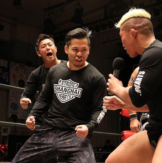 "W-1: ""Wrestle-1 Tour 2018 Autumn Bout"" La traición de Yoshioka 4"