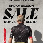 Image for the Tweet beginning: END OF SEASON SALE!  All Red