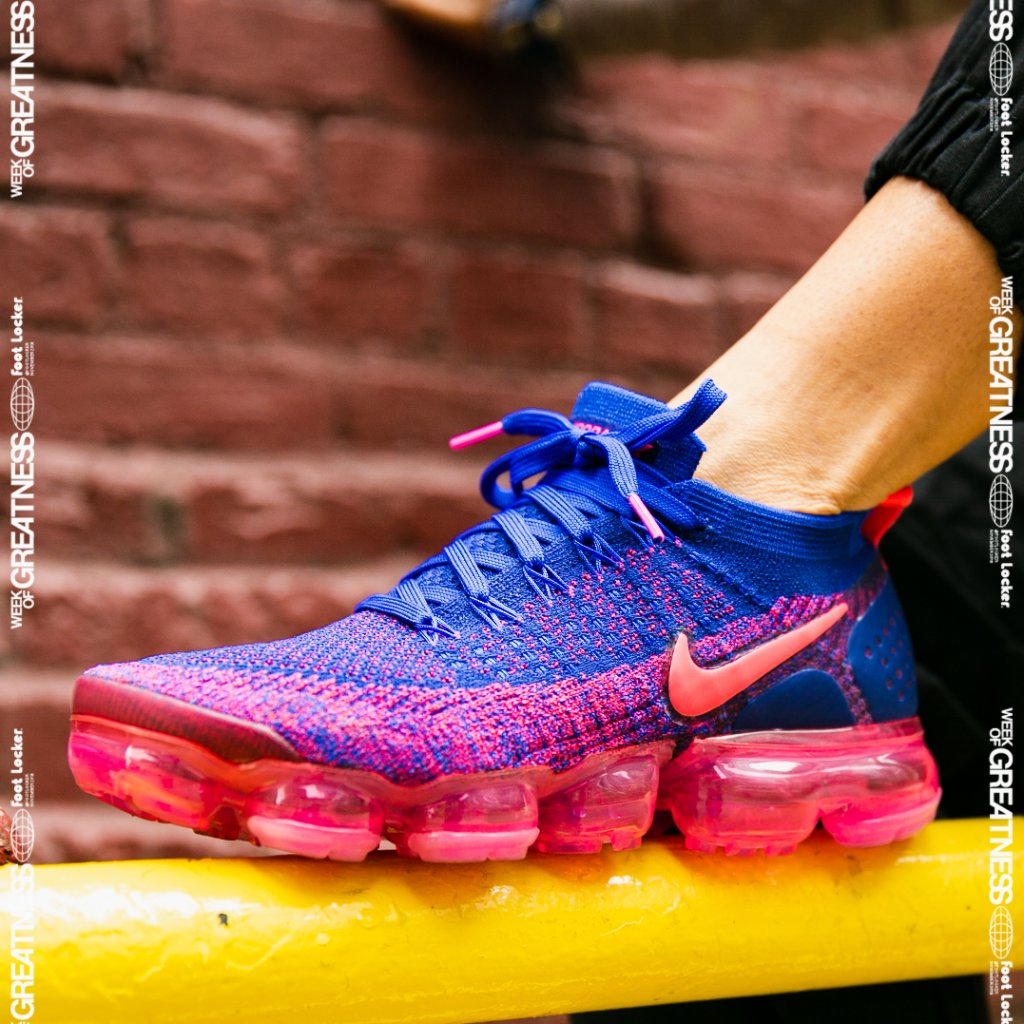 online store b3ea0 2f4af vibrant color wmns air vapormax flyknit 2 racer blue available now in store  and online