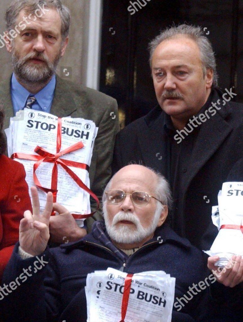 "He was ""Born on the 4th July"" Ron Kovic, #Corbyn and me at 10 Downing St in the run-up to the #IraqWar #KillingKelly"