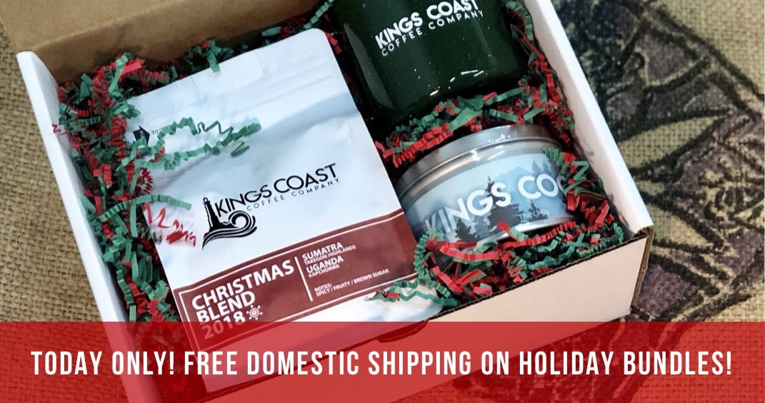 Kings Coast Coffee On Twitter One Stop Christmas Shopping