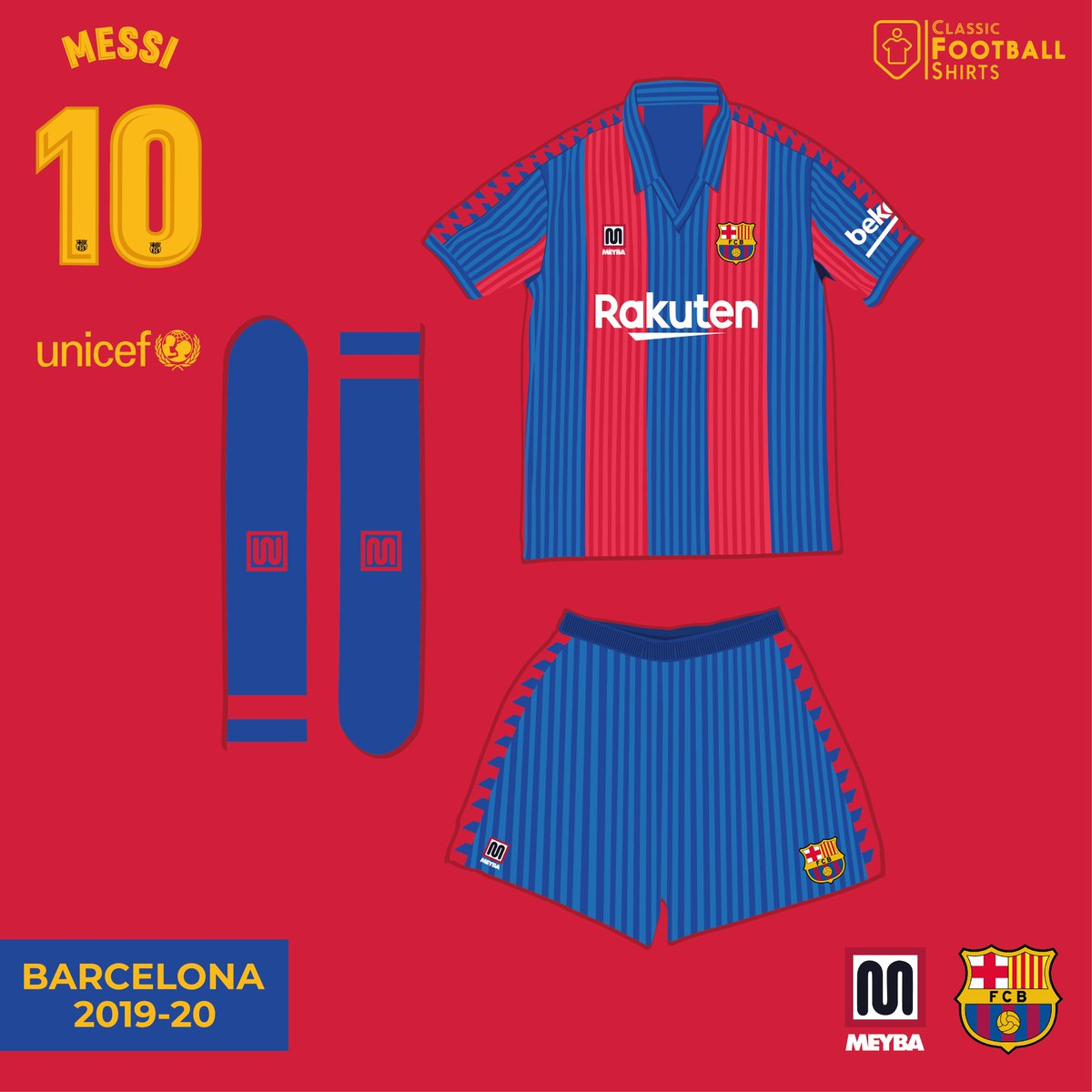e0df45fc1 Fantasy Kit Friday  Barcelona 19-20 kits What if Barcelona went went back  to Meyba  FantasyKitFridaypic.twitter.com X7hjshl7bk