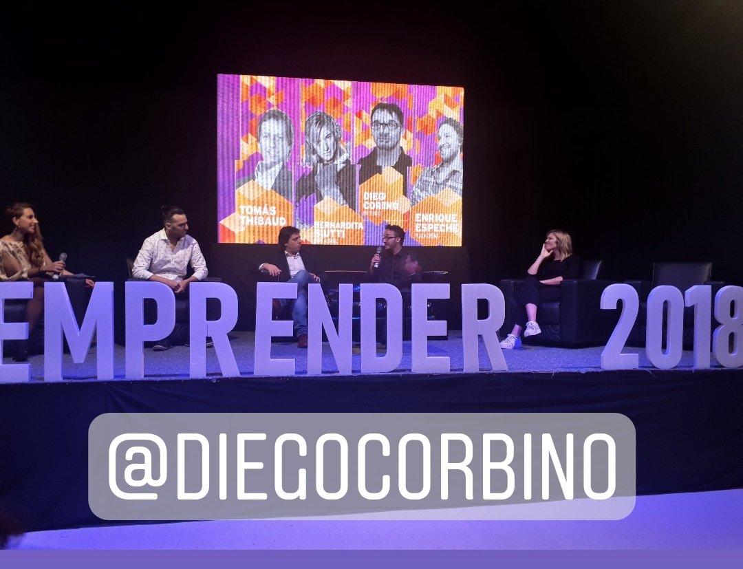 Diego Corbino en el Emprender Nacional! #EmprenderCAME #EnergiaqueInspira