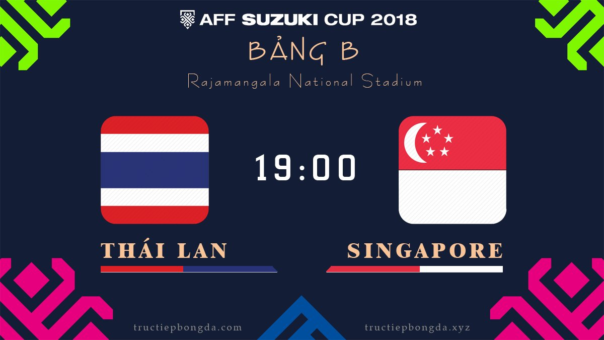 Thái Lan vs Singapore