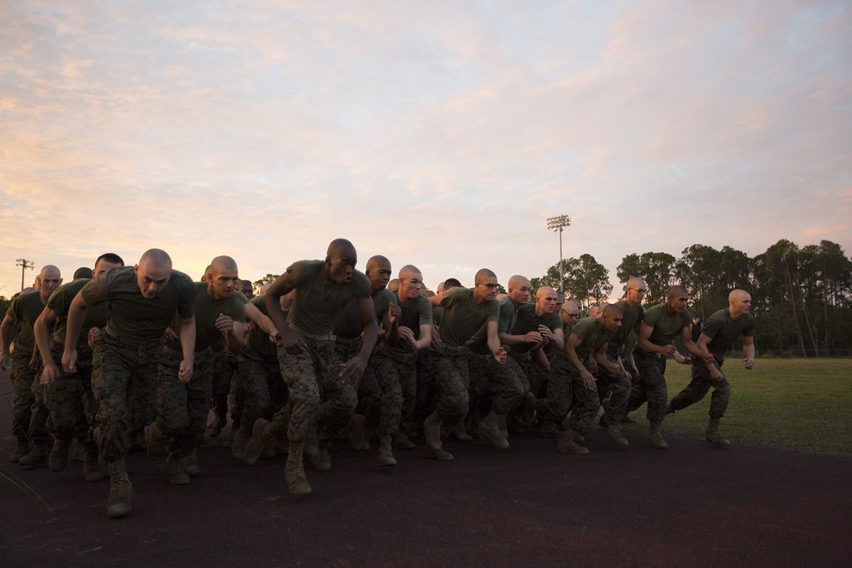 The time is almost up Marines!  As the New Year approaches, remember that you have only 38 days left to run your CFT.  #usmc #combat #fitness #ready #300 #hardwork #semperfi