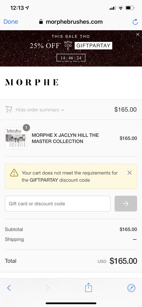 Morphe On Twitter Who Doesn T Love A Blackfriday Sale We Want You To Slay This Season So Head To Our Site And Use Code Giftpartay And Get Your Shop On Tag Morphe is a major beauty brand that markets products and services at morphe.com. who doesn t love a blackfriday sale