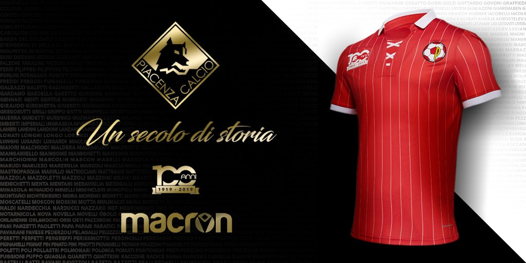 Also from Ed  New shirts for Piacenza Calcio 1919 30fa86f1d