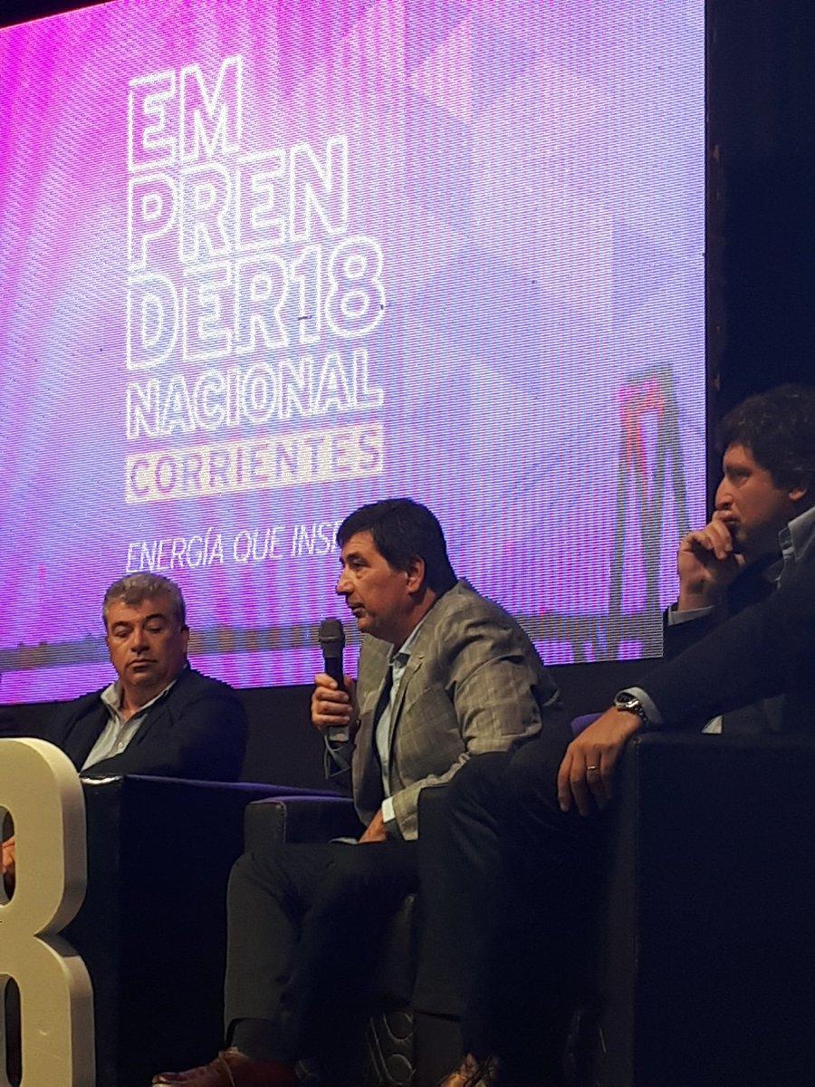 Palabras de @gerardodbeltran en el Emprender Nacional Corrientes. #EmprenderCAME #EnergiaqueInspira @redcame @camejoven