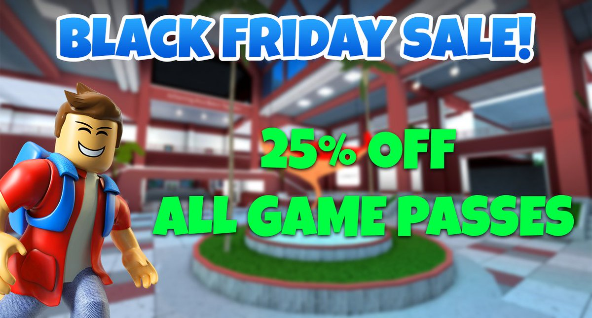 Robloxian Highschool A Twitter Celebrate Blackfriday At - roblox black friday 2018 items