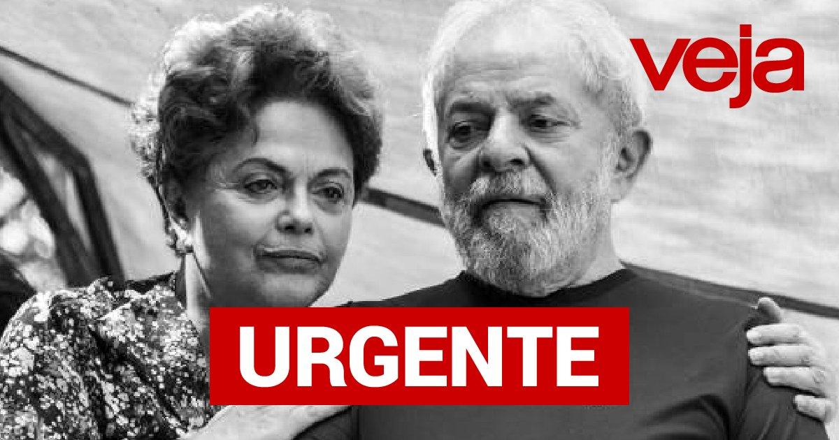 #URGENTE Juiz torna réus Lula, Dilma, Palocci e Mantega por 'quadrilhão do PT'. Leia mais: https://t.co/WlOpuU03O1 #VEJA