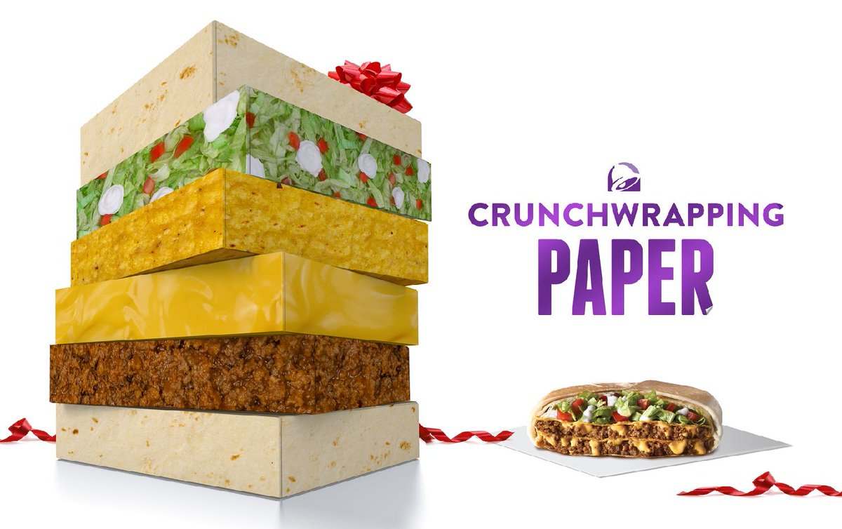 Taco Bell Christmas Hours.Taco Bell Canada On Twitter Wrap Your Gifts With A Taco