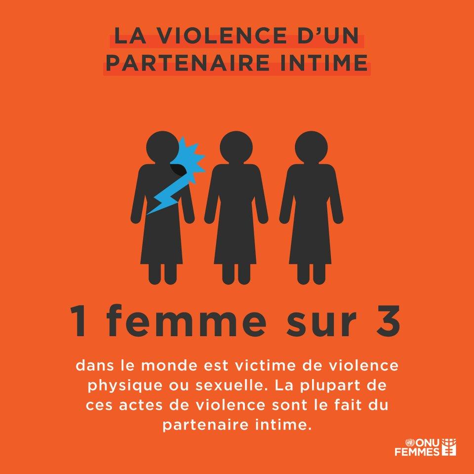 Dénoncez la violence faite aux femmes. Toujours. Partout.  Rompre le silence est la première étape pour transformer la culture de la violence basée sur le genre : https://t.co/Dlt1DV5Cuh via @ONUFemmes #ÉcoutezMoiAussi #orangetheworld #16jours