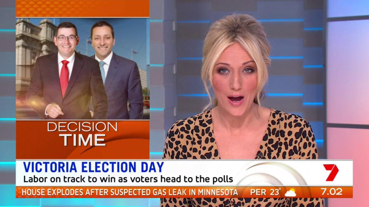 Victorians will head to the polls today with Labor on track to retain power! #ElectionDay