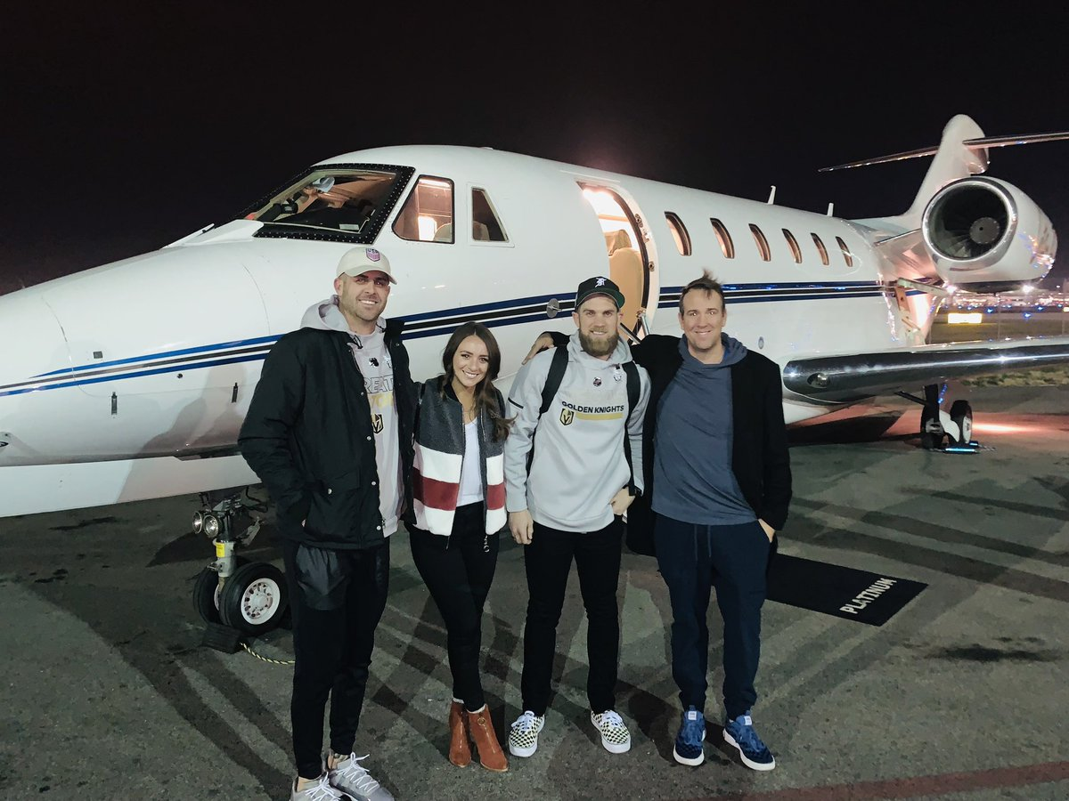 Image result for Bryce Harper on private jet