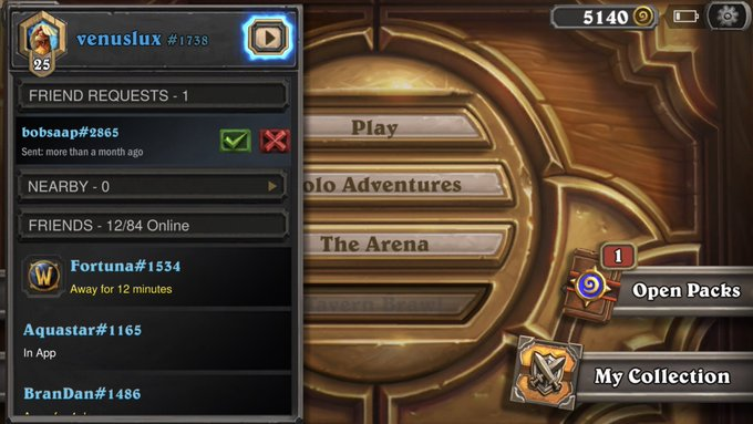 Join me on @PlayHearthstone . Let's see who's deck is better😈😙 battletag: venuslux#1738 @VenusLuxFans