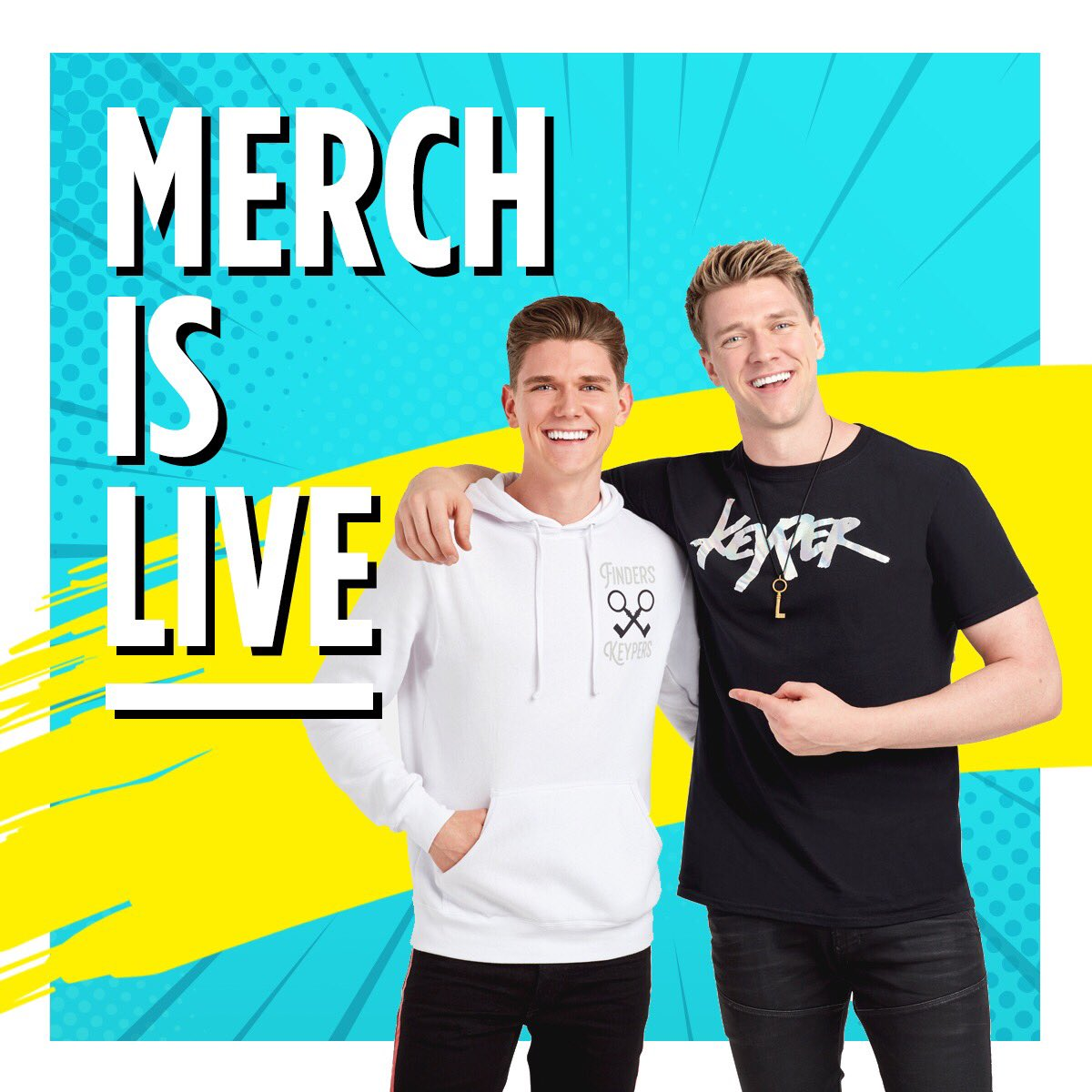 Collins Key merch is live
