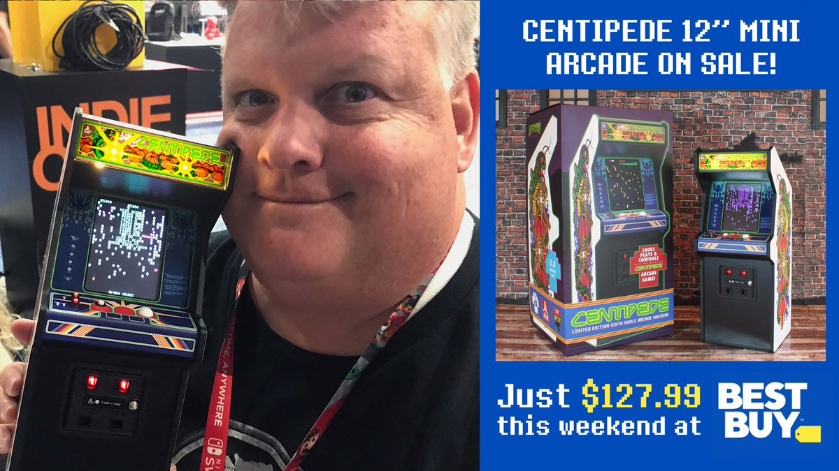 New Wave Toys On Twitter Our Friends At Best Buy Are Offering A Great Deal On Our Centipede X Replicade Machines This Weekend Check It Out Here Https T Co 2qxuoczcda Https T Co Vzwwlutoih