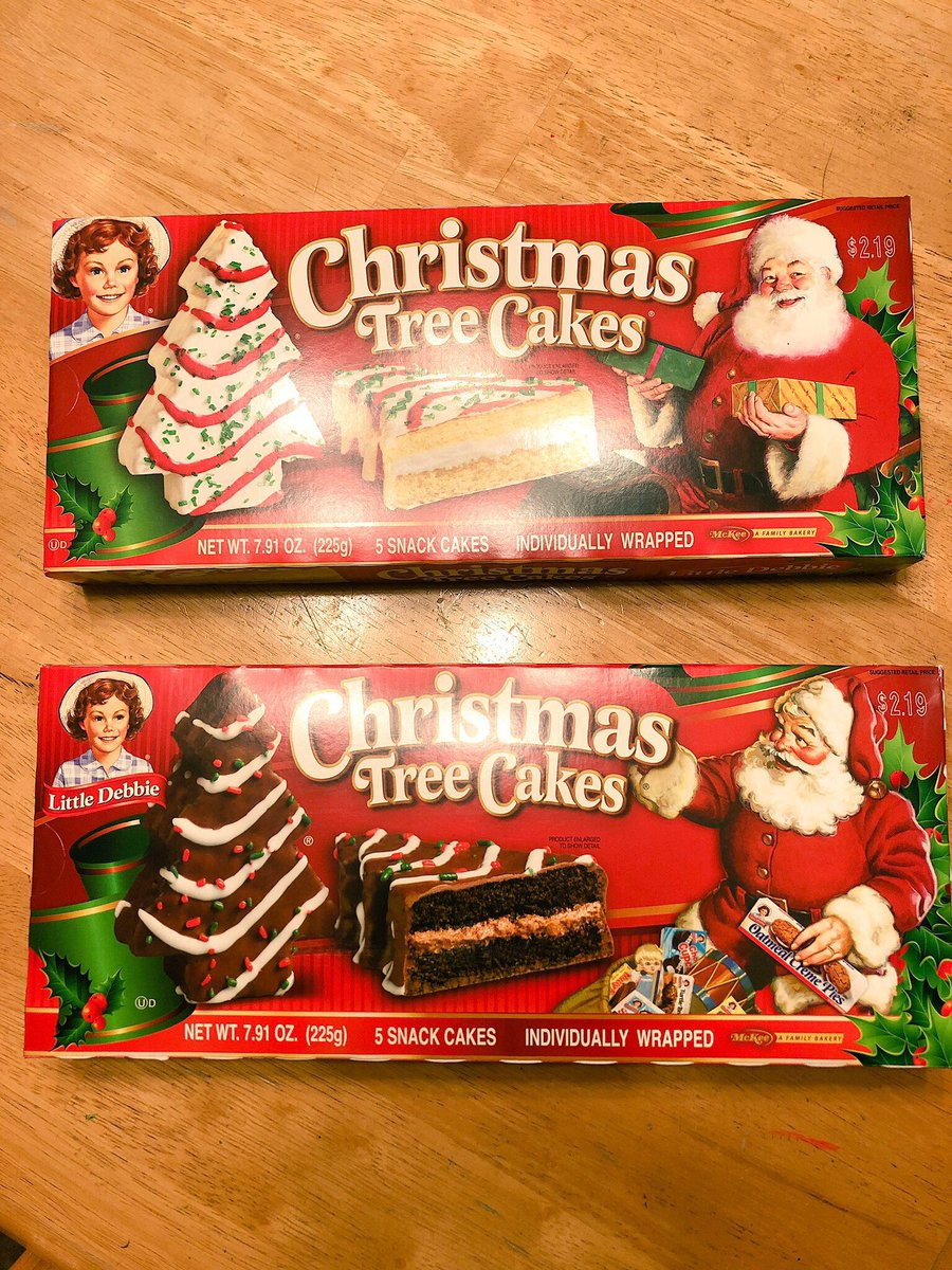 Little Debbie On Twitter Is It Christmas Tree Cakes Day Yet