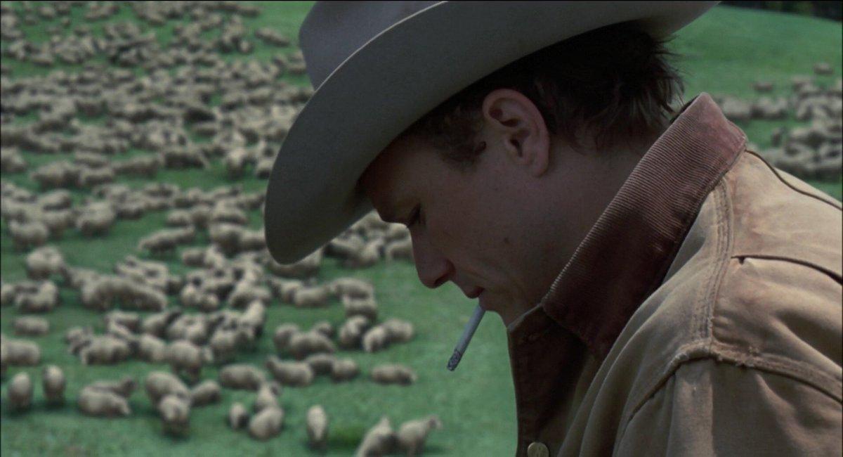 John Sant On Twitter Brokeback Mountain 2005 Directed By Ang Lee Cinematography By Rodrigo Prieto Starring Heath Ledger As Ennis Del Mar Jake Gyllenhaal As Jack Twist Michelle Williams As Alma