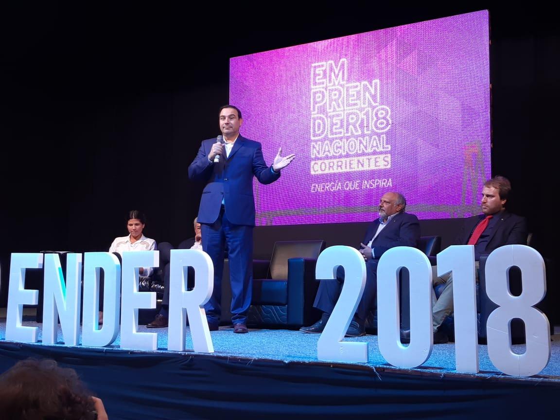 Gobernador de Corrientes en el Emprender Nacional Corrientes 2018 #redcame #EmprenderCAME #energiaqueinspira @redcame @camejoven