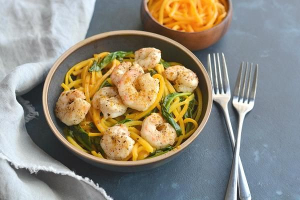 Shrimp Curry Butternut Squash Noodles https://t.co/8wPYM6qDYU https://t.co/AxPXy7HT8y