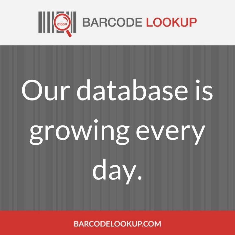 Barcode Lookup (@barcodelookup) | Twitter