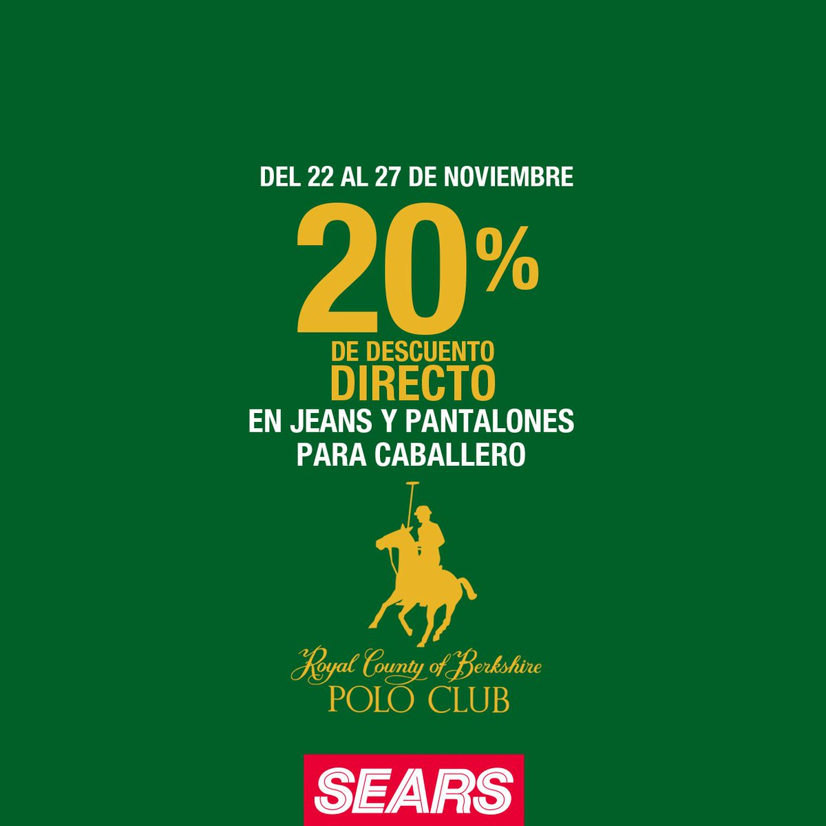 90b6b0251 Sears México on Twitter