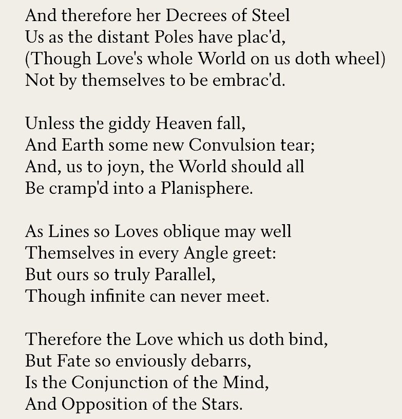 the definition of love andrew marvell