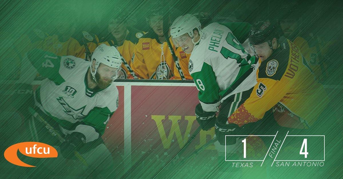 stars hockey score tonight