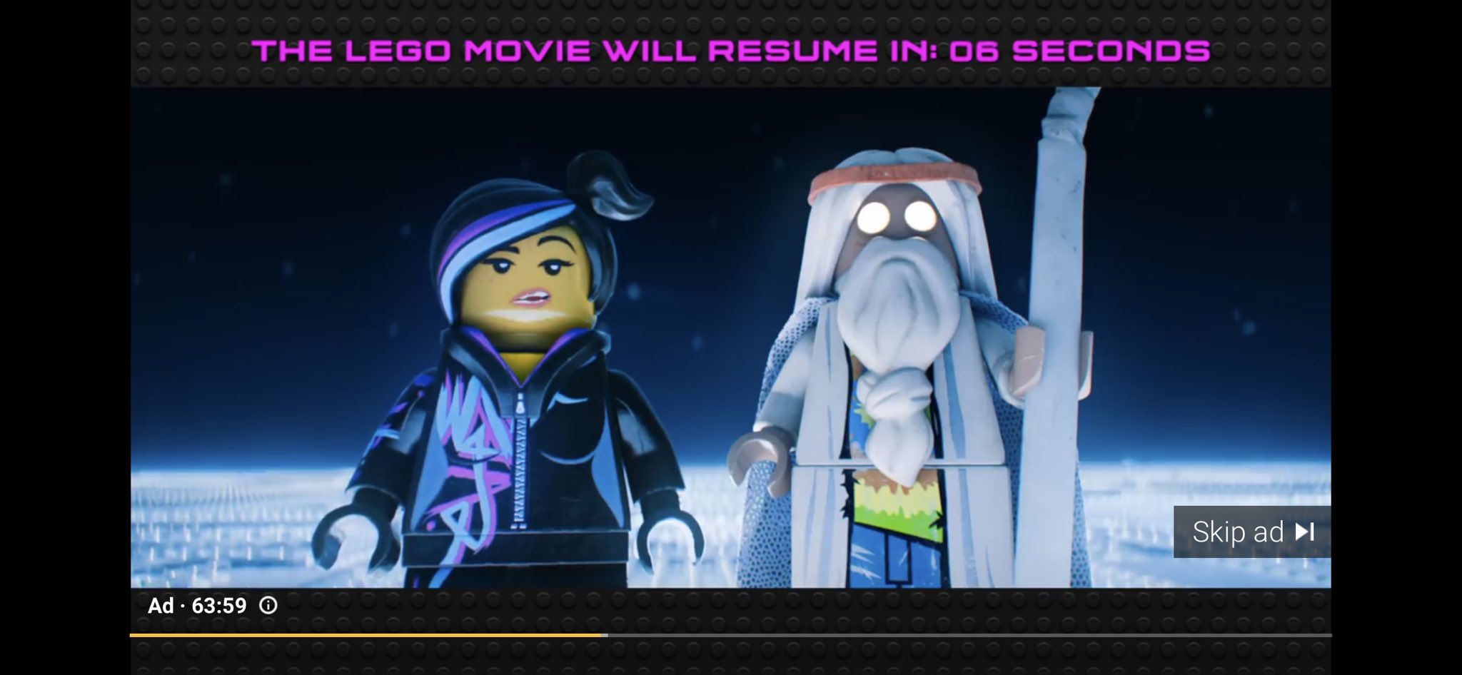 James Montagna Pa Twitter The Youtube Ad For Lego Movie 2 Is Literally The Entire First Legomovie And I Watched The Whole Thing Tbh Brilliant Https T Co Llbbpgpwsw