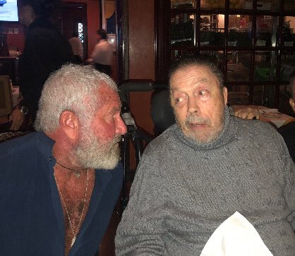 Thanksgiving w my precious pal Tim Curry . He is a miracle ! https://t.co/Eq6zCGMKNd