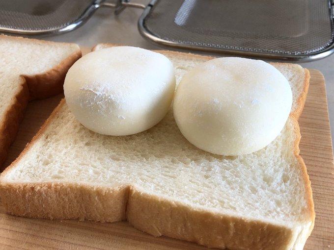 「雪見だいふくホットサンド」アツアツ&冷たい&お餅が絶妙な美味しさ!!