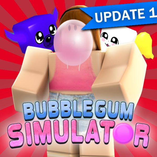 Isaac On Twitter Bubble Gum Simulator Update 1 Sweet New - codes for roblox bubble gum simulator 2018 how to get 40