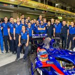 The squad 👊 Last F1 weekend of 2018. Full attack.   @ToroRosso @GiltrapGroup