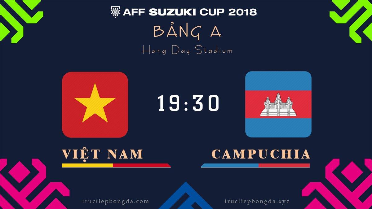 Việt Nam vs Campuchia
