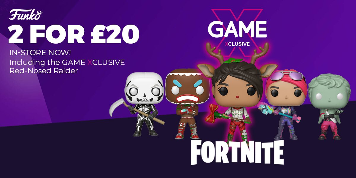 Game Headrow Leeds On Twitter Looking For Fortnite Christmas Gift Ideas We Ve Got Fortnite Pops T Shirts 2 For 20 For Those Of You Feeling Extra Festive Pick Up The Merry Marauder