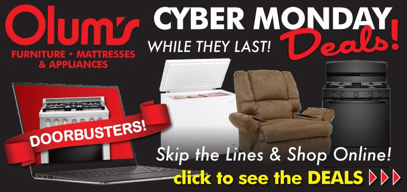 Olum S Furniture On Twitter Cyber Monday Deals Now Skip The Lines