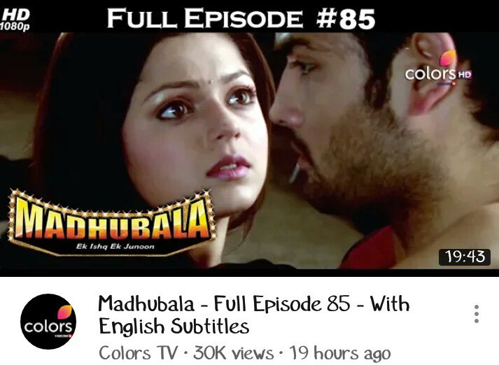 Try These Madhubala Ek Ishq Ek Junoon Episode 100 Tune pk