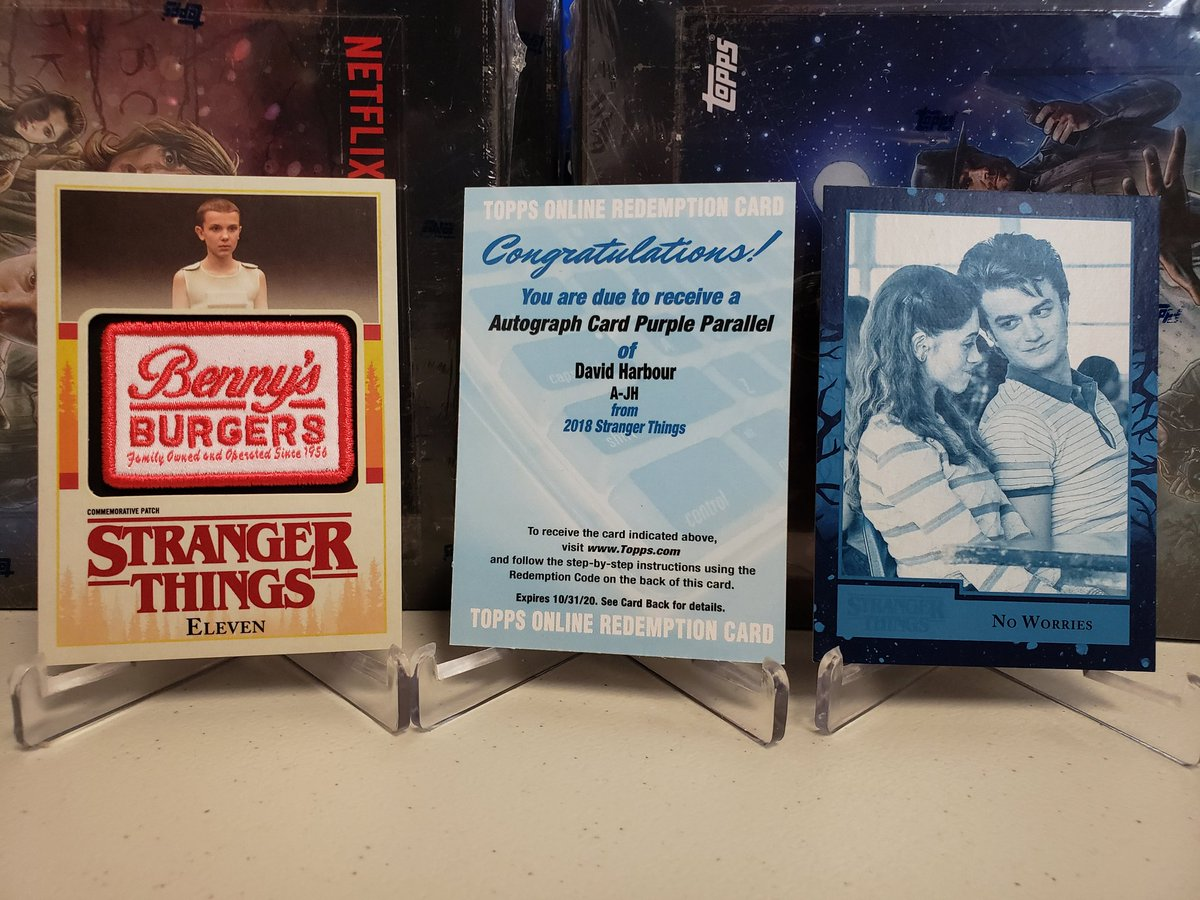 4 cases Topps Stranger Things - Blowout Cards Forums