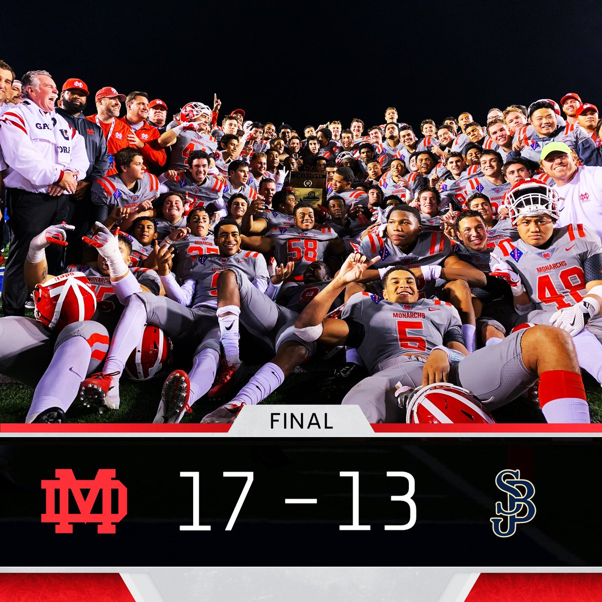 Mater Dei Football On Twitter What A Game Cifchamps Monarchs Committed