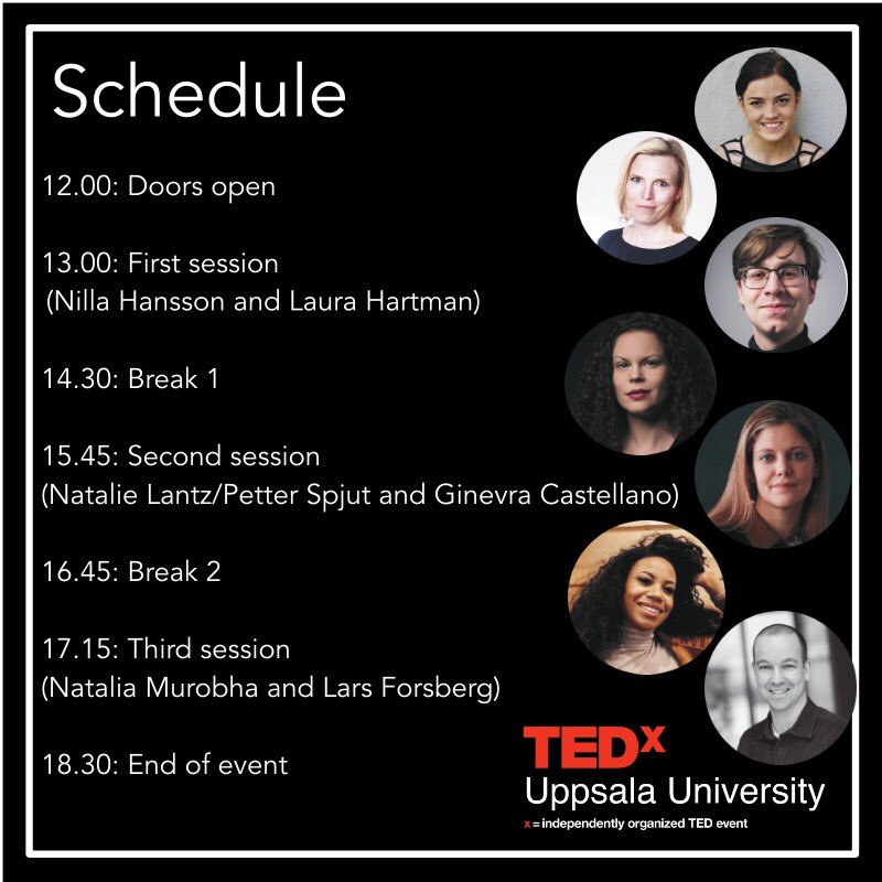 Here is our today's schedule. Looking forward to meet all the lucky applicants/attendees. See you!  If you have any queries, feel free to ask us. #tedxwhynot https://t.co/0uqpANi7Hz
