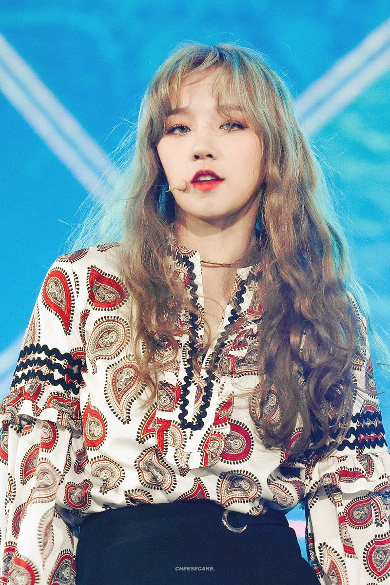 Brown Haired Yuqi Vs Blonde Yuqi With Pics Allkpop