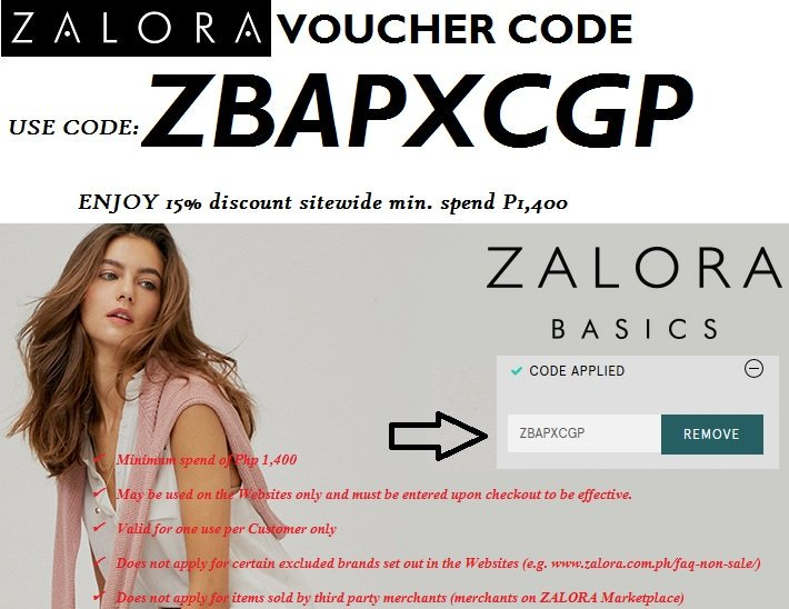 1 Fashion Online Shop!! visit http   www.zalora.com.ph Get 15% Discount  upon check-out  CODE  ZBAPXCGP ✓Cash on Delivery ✓All items are guaranteed  100% ... 7db78dc4e3