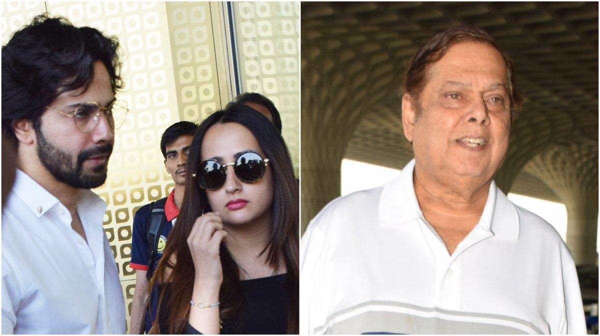 #VarunDhawan and girlfriend #NatashaDalal jet off on holiday with David Dhawan. See pics | https://t.co/uU6WNOMb3l