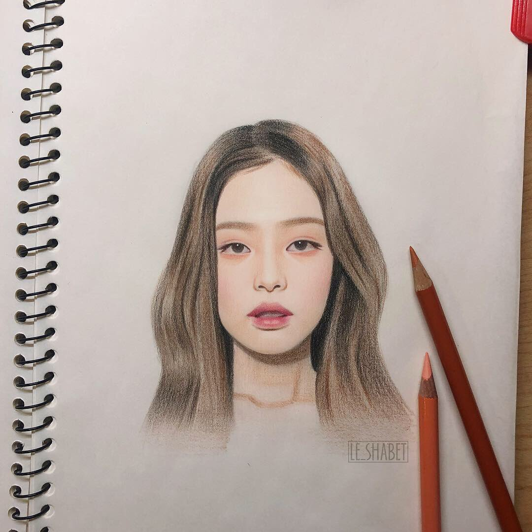 I'm going solo lo lo lo~ #blackpink #jennie #blackpinkjennie #블랙핑크 #제니 #blackpinkfanart #jenniefanart